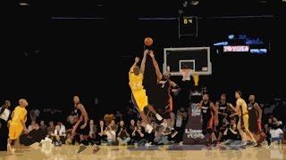 Kobe Bryant amazing game winning shot over Dwayne Wade!!