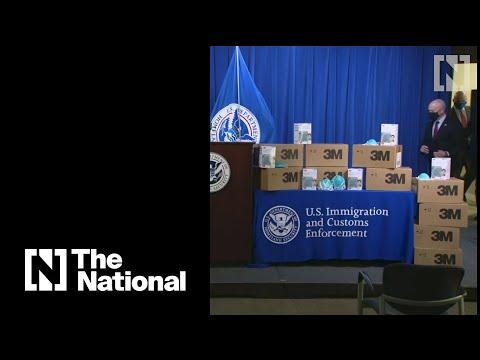 US authorities seize more than 11 million fake N95 masks