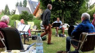 Testvideo Gartenmusik 2017, Funnybone Folks