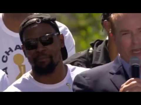 In The Zone - VIDEO: Did This Joke Send Durant Packing?