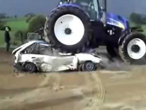 Dev Traktor New Holland Vs Ford