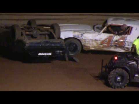 Pure Stock Main event at TR Speedway 4/13/18
