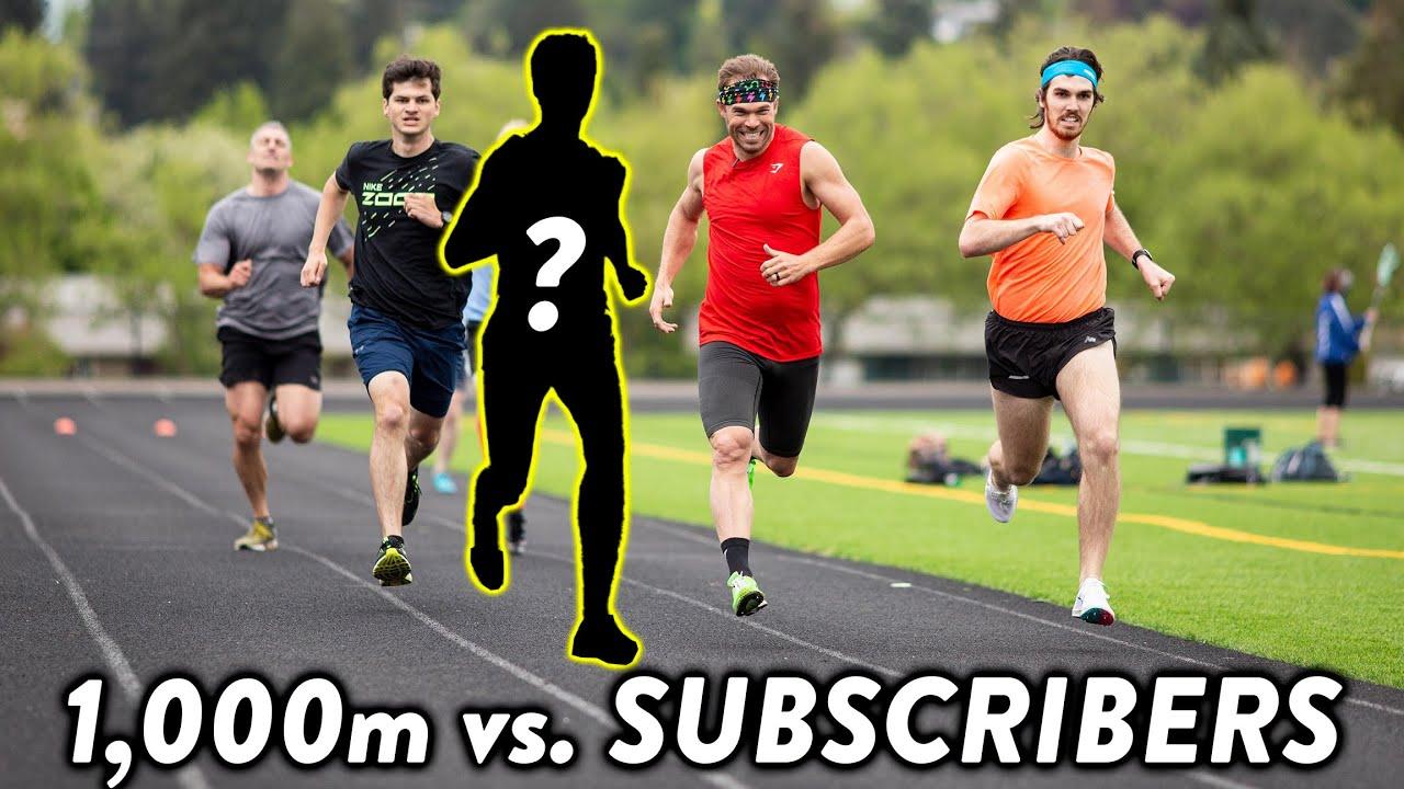 KILLER Kilometer, 1,000m vs Subscribers! #NSTC