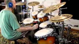 "John Scofield / Dennis Chambers - ""Pick Hits"" (Drum Cover)"