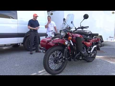 Dave and His New Ural Gear Up, AlphaCars & Ural of New England