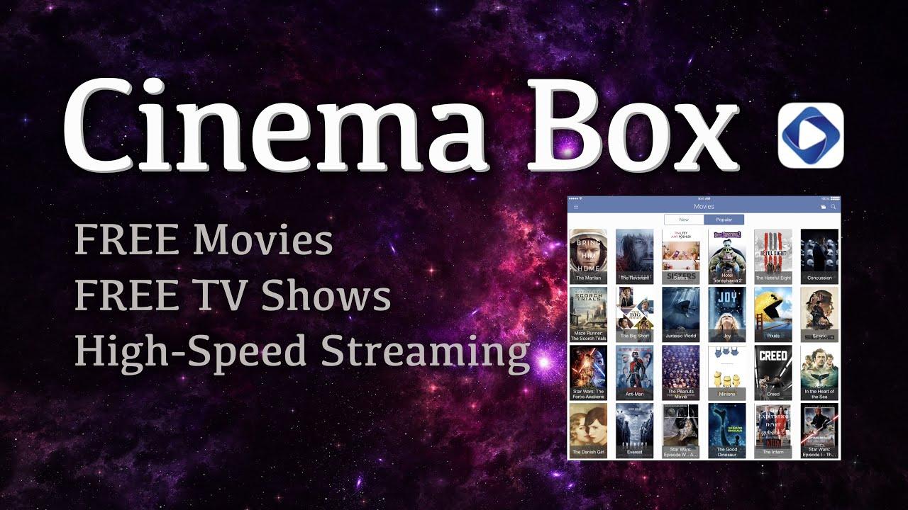 cinema box watch stream new movies tv shows on ios 9 2 9 3 3 iphone ipad tweak 2016