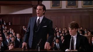 """Мистер Слэйд защищает Чарли на заседании дисциплинарного комитета. """"Запах женщины/Scent of a Woman"""""""