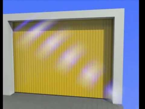 Porte de garage coulissante lat rale aluminium atlantide for Flo fermeture porte garage