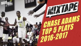5'8 Chase Adams Can Score On ANYBODY! Top 5 Plays Of Season!