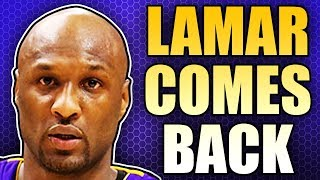Lamar Odom Announces His Return To Basketball