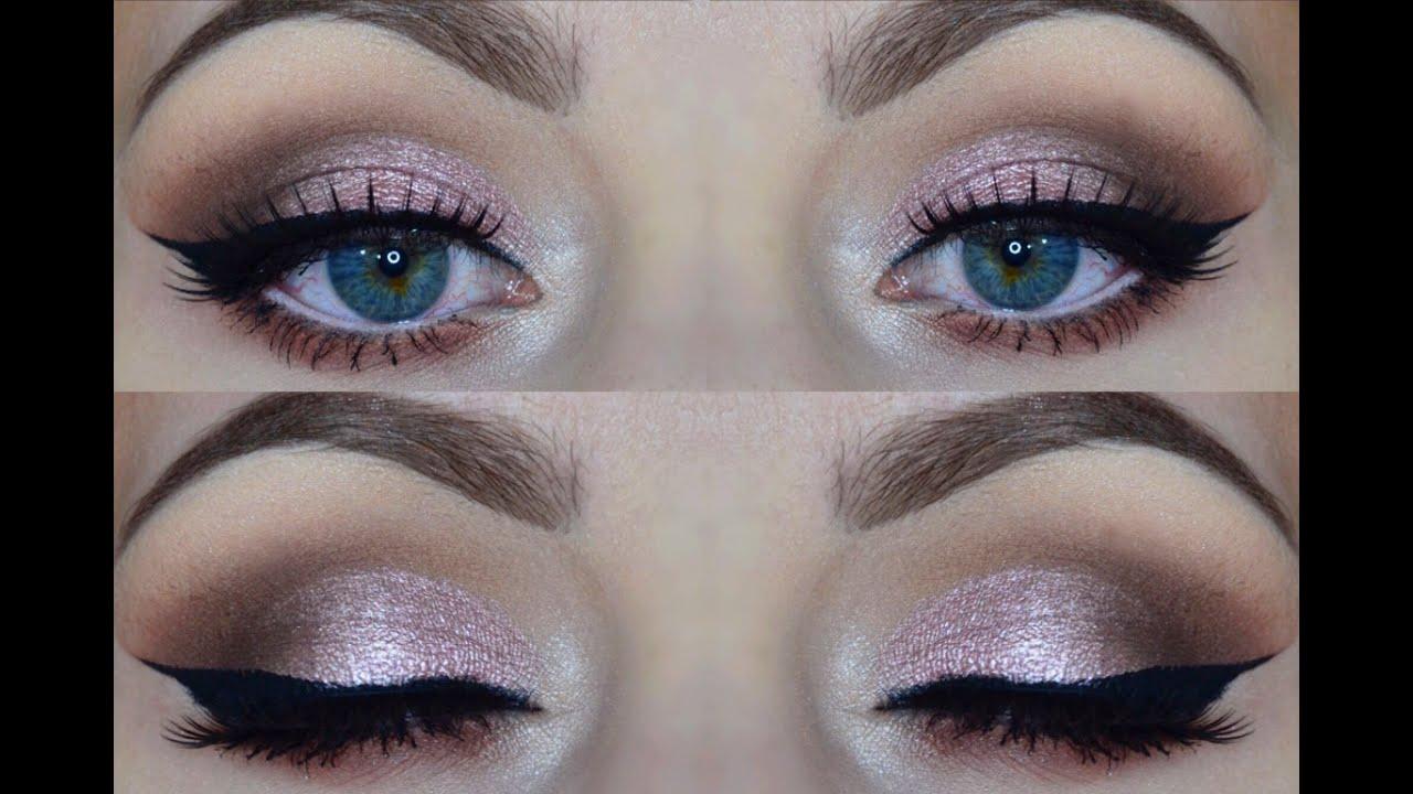 pink and gold eye makeup tutorial saubhaya makeup