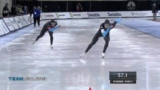 Shani Davis: History In The Making | 2014 U.S. Olympic Trials Speedskating
