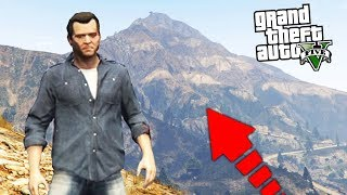 ¿QUE PASA SI SUBES EL MONTE CHILLIAD POR LA NOCHE? GTA V - Grand Theft Auto 5