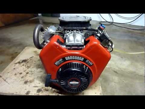 Briggs&Stratton Vanguard 570ccm 20HP V Twin Race Kart Racing Mower engine