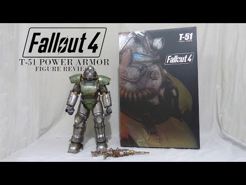 Fallout 4 T-51 power armor figure by Threezero Unboxing & review