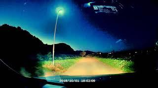 ウェザーリポート動画1001@18時 群馬県みどり市 台風で倒れたひまわり...