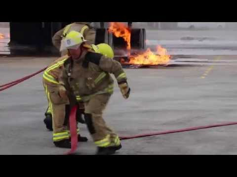 Jesse Page, Trainee Aviation Rescue Fire Fighter