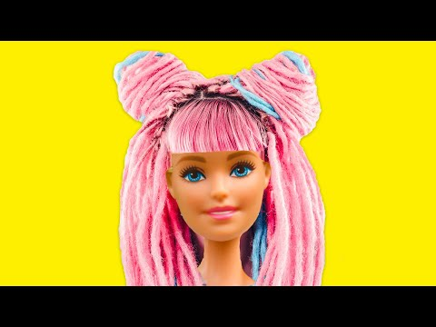 38 GENIUS BARBIE CRAFTS FOR THE WHOLE FAMILY! | Amazing doll transformation thumbnail