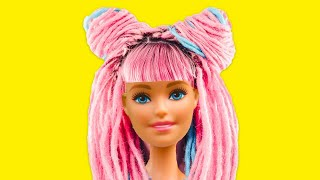 38 GENIUS BARBIE CRAFTS FOR THE WHOLE FAMILY! | Amazing doll transformation