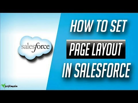 how to create page layout in salesforce - Salesforce Tutorial in hindi #8