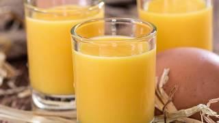 Эликсир от болезней и слабости: Возьми коньяк + мёд + яйцо + лимон...