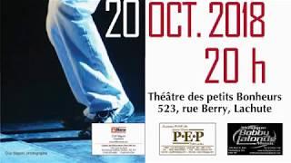 Pratique pour le spectacle de Pierre Diotte Rock Quartet