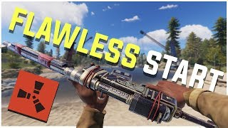 Rust - What is a FLAWLESS Start? (Rust PvP Highlights & More)