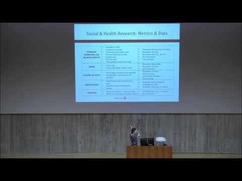 Dr Rachel Volberg, University of Massachusetts Amherst, USA