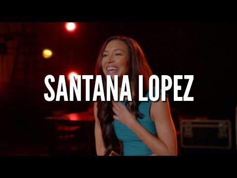 GLEE   BEST SANTANA LOPEZ SONGS