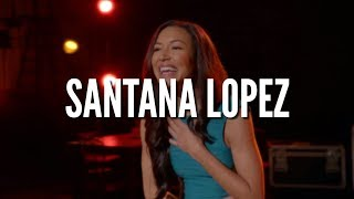 GLEE | BEST SANTANA LOPEZ SONGS