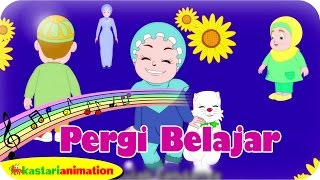 PERGI BELAJAR  - Lagu Anak Indonesia - HD | Kastari Animation Official