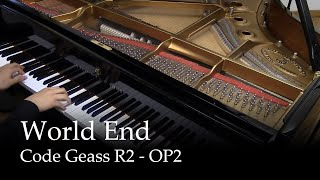 World End - Code Geass R2 OP 2 [piano]