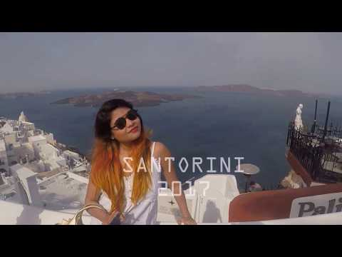 Santorini Greece HD Travel Dairy Gopro Hero5