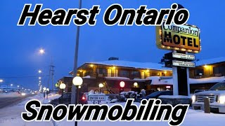 SNOWMOBILING IN ONTARIO, COCHRANE, HEARST AND MORE (4K)