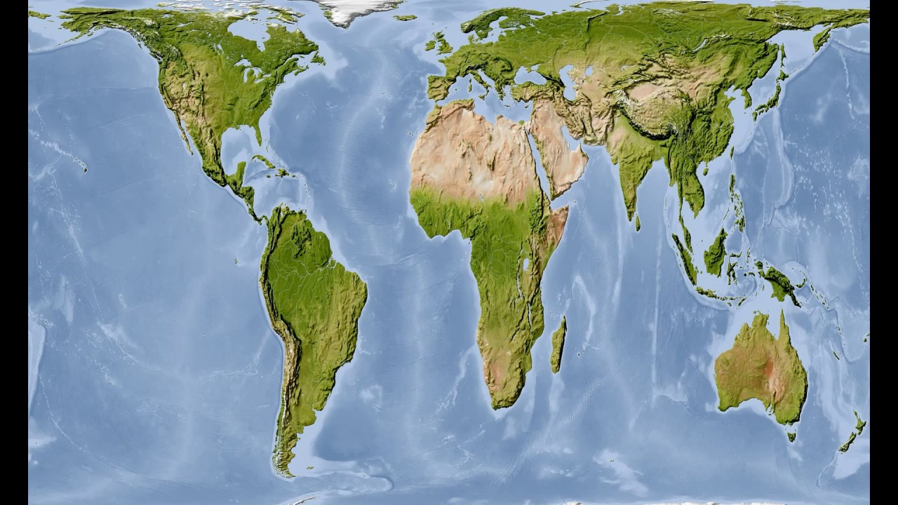 proportional world map - YouTube