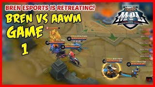 Can Bren Esports Endure the Harassment of AAWM? | MPL-PH Game1