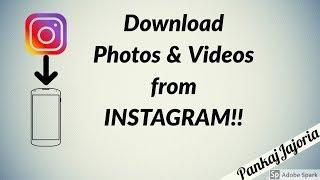 Download lagu Instagram Downloader | Download Photos & Videos from Instagram | One Click Download | OGInsta