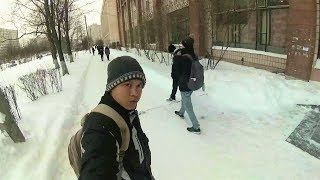 I miss the life with snow, St  Petersburg, Russia