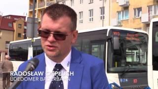 Niemieckie autobusy zatrzymane w Świnoujściu
