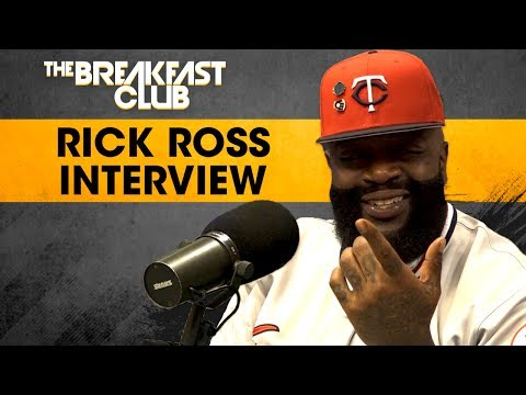 Rick Ross Speaks On Meek Mill, Female Rappers & His VH1 Show