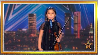 Amazing VIOLINIST GIRL Gets GOLDEN BUZZER! | Auditions 3 | Spain's Got Talent 2019