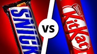 SNICKERS vs KITKAT