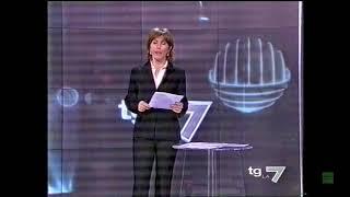 """La7 - Sequenza Tg e Spot dopo la fine del film """"Roma Città Aperta"""" 27 Aprile 2003 (HD)"""