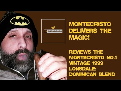 MrCigarEnthusiast Reviews The Montecristo No.1 Vintage 1999 Lonsdale - Dominican Blend