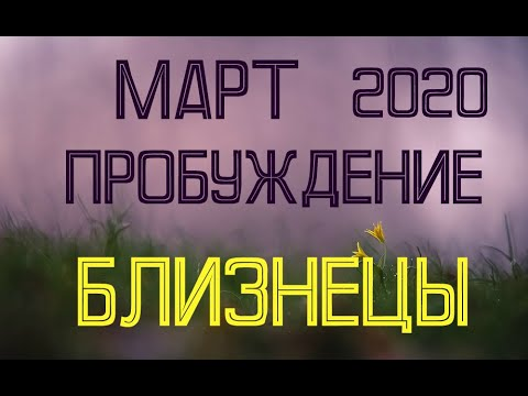 БЛИЗНЕЦЫ. МАРТ. Таро-прогноз на март 2020 для Близнецов.