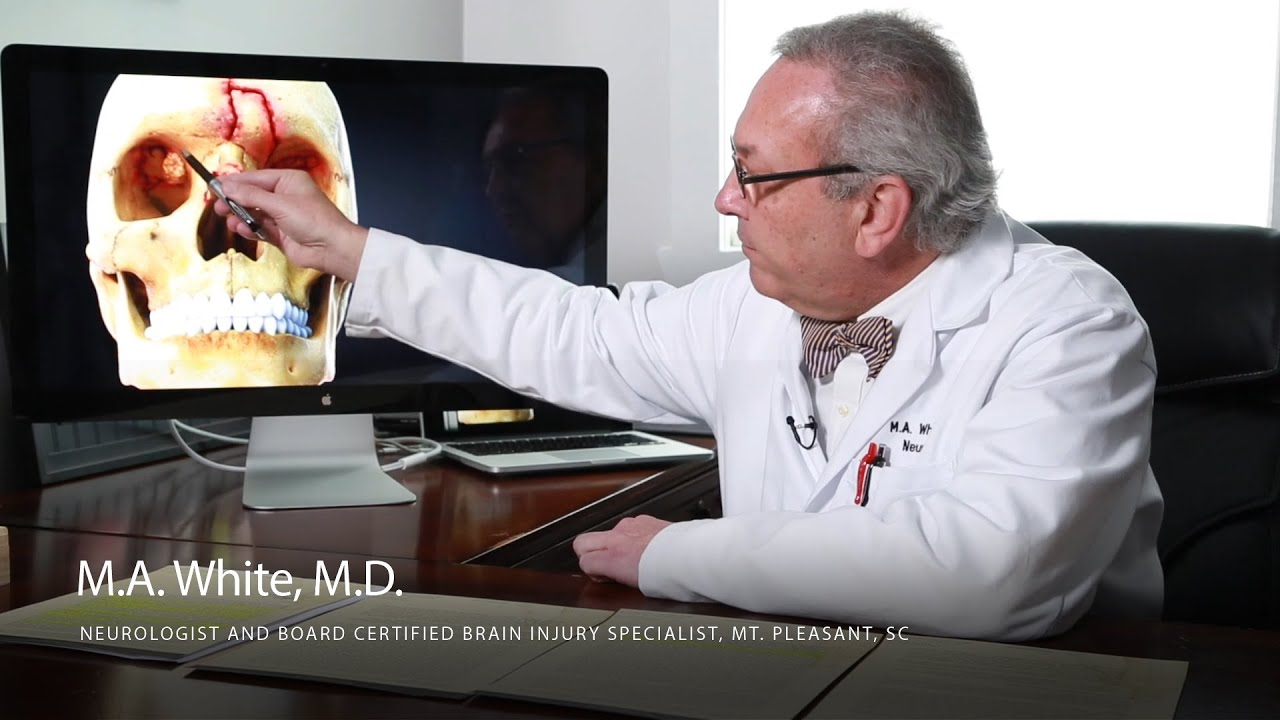 Neurologist M.A. White, M.D., Uses High Impact Animation to Explain Injuries
