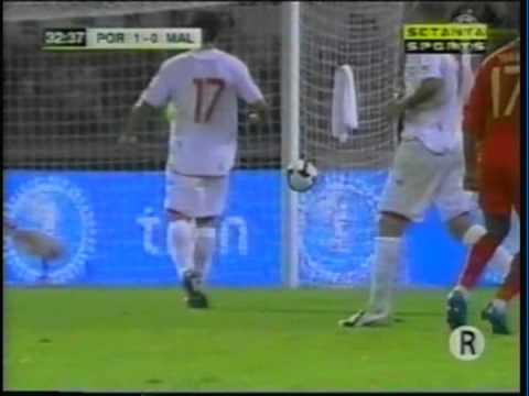 2009 (October 14) Portugal 4-Malta 0 (World Cup Qualifier).mpg