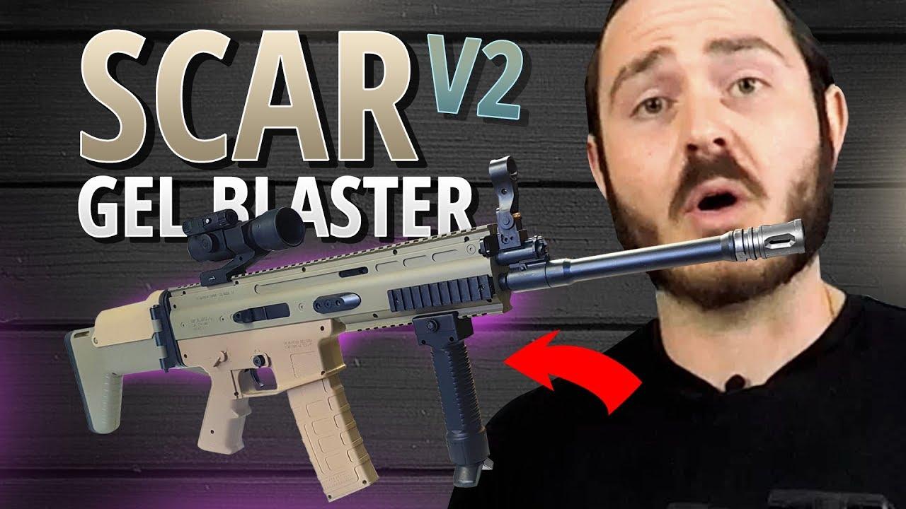 Extac Australia - Jinming Scar V2 Gel Blaster