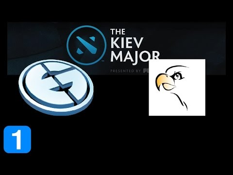 EG vs THUNDERBIRDS Game 1 Kiev Major Highlights Dota 2
