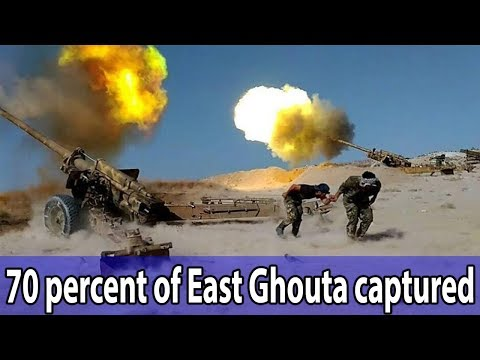 Syrian Army says 70 percent of East Ghouta captured || World News Radio
